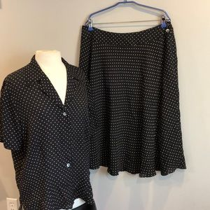 Jones New York Woman Skirt Set Sz 16W
